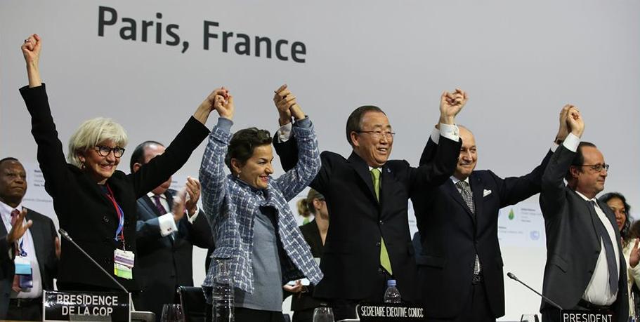 COP21VictoryHandsUp