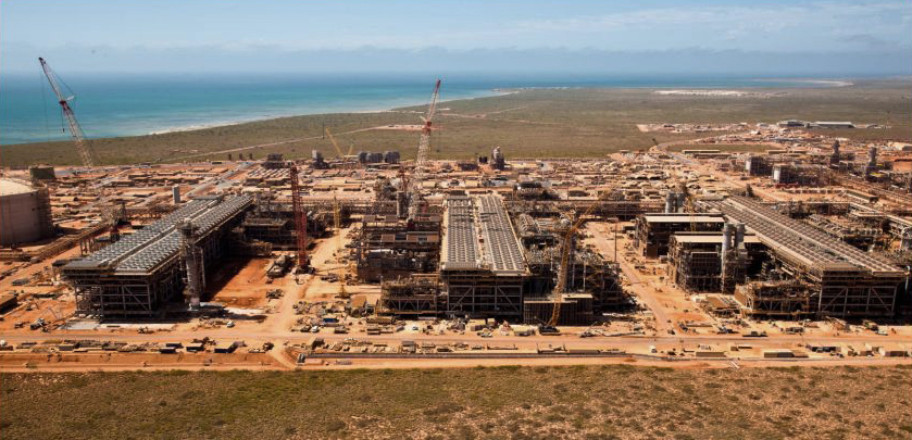 All 51 modules required for the three LNG trains have been delivered to Chevron's Gorgon CCS project on Australia's Barrow Island. (Photo courtesy Chevron)