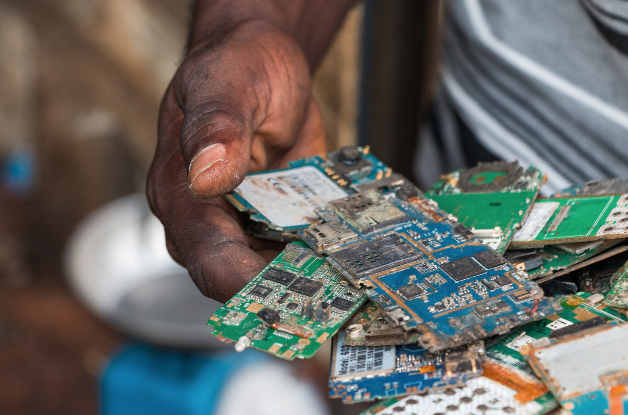 E-Waste Piles Proliferate in Asia