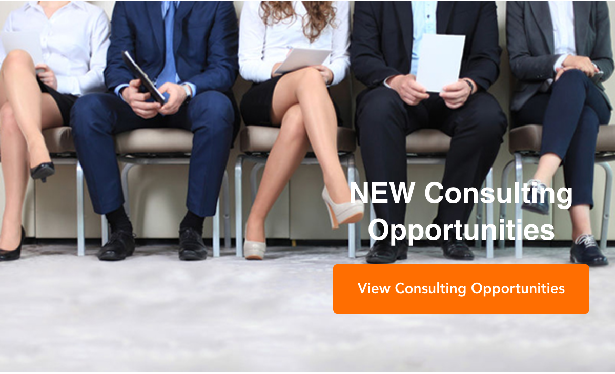 NEW Consulting Opportunities - Apply Now