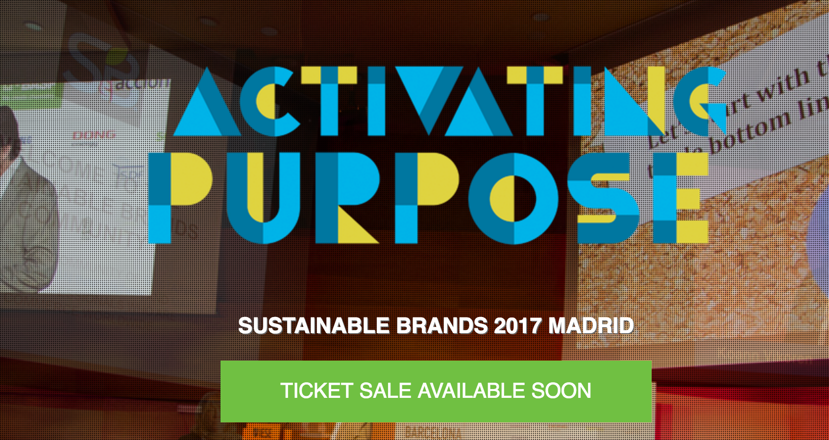 Sustainable Brands 2017 Madrid