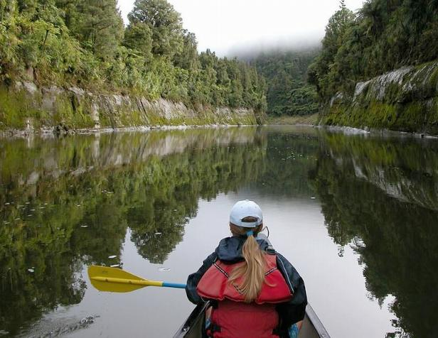 The Whanganui Journey is a remote and peaceful canoeing experience on the Whanganui River. (Photo courtesy NZ Dept. of Conservation) Creative Commons license via Flickr)