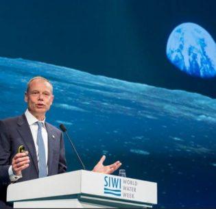 AstronautSwedenWorldWaterWeek