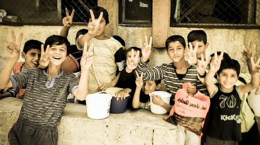 Syrian boys in Raqqa, June 2013 (Photo by Beshr Abdulhadi) Creative Commons license via Flickr