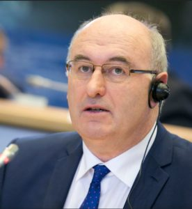 European Commissioner for Agriculture and Rural Development Phil Hogan (Photo courtesy EPP Group / European Parliament) Creative Commons license via Flickr