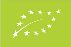 This logo identifies organic produce in the European Union. (Photo courtesy European Commission) Posted for media use