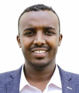 Mohamed Abdirahman, 29, of Somaliland is one of five finalists from Africa in the 2018 Young Champions of the Earth competition. (Photo courtesy UNEP) Posted for media use