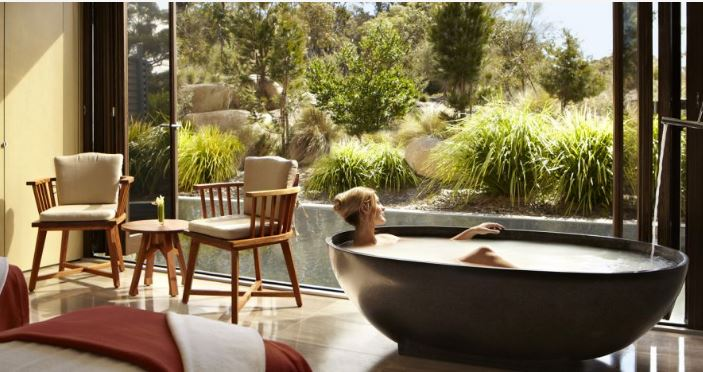 "Australia's luxury resort Saffire Freycinet is located mid-way along Tasmania's East Coast. To eliminate the last bit of temptation, the resort requires guests to surrender their digital devices upon arrival if they are participating in the resort's ""e-tox"" package. (Photo courtesy Digital Detox Holidays) Posted for media use"