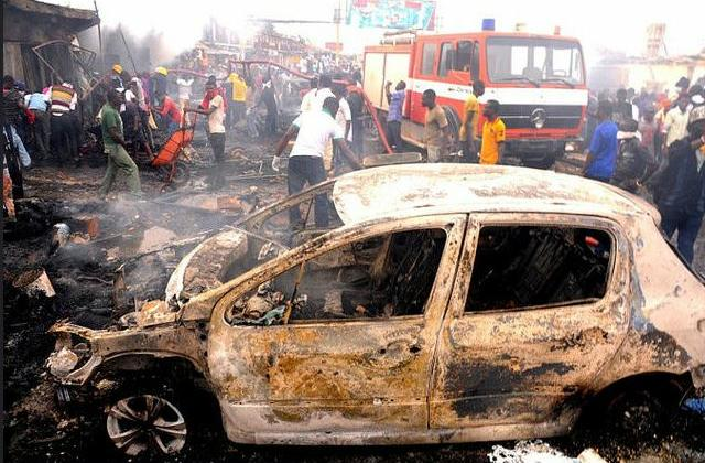 A Boko Haram bombing, February 6, 2015, (Photo courtesy Diariocritico de Venezuela) Creative Commons license via Flickr
