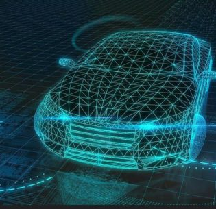 The outlines of an autonomous car, 2017 (Photo by Automobile Italia) Creative Commons License via Flickr.