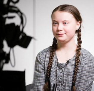 "Swedish student climate activist Greta Thunberg told the World Economic Forum, ""I want you to act as if our house is on fire. Because it is."" January 22, 2019, Davos, Switzerland (Photo courtesy World Economic Forum) Posted for media use."