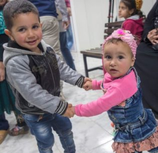 SyrianKidsJordanCamp