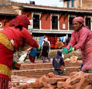 NepalRebuildingTemple