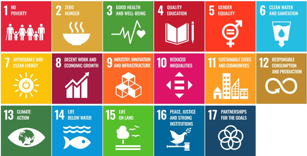 17 Sustainable Development Goals (SDGs)