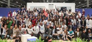 Young people demanded climate action during Young and Future Generations Day at the UN Climate Change Conference COP25 in Madrid, Spain, December 6, 2019. (Photo courtesy UNFCCC)