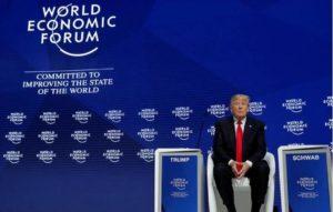 Trump Davos Alone