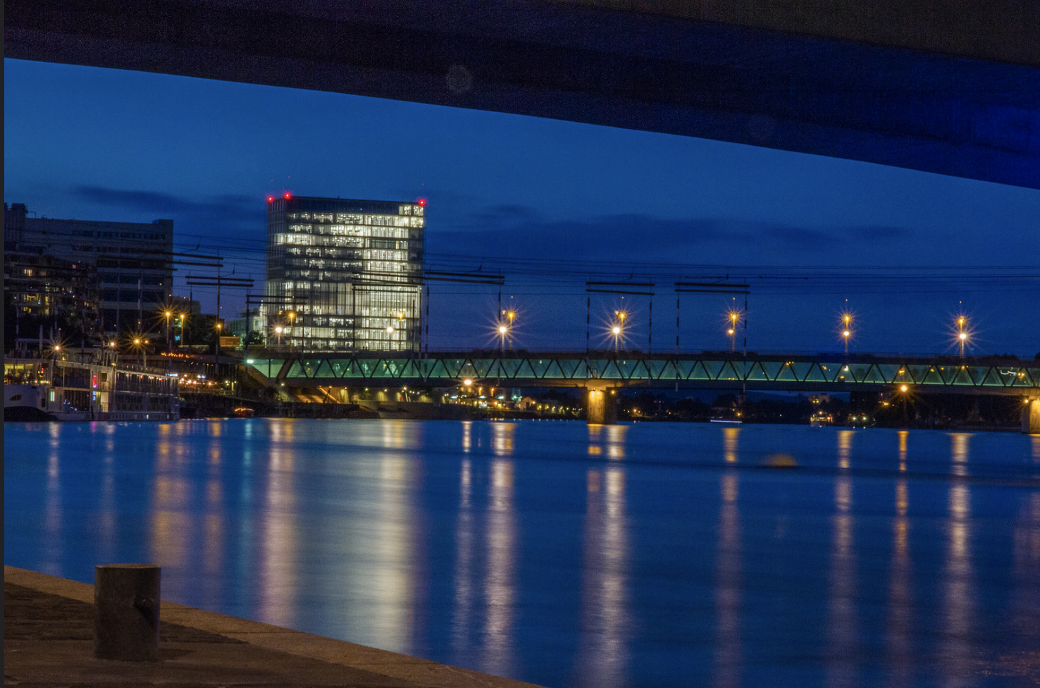 Headquarters of the multinational pharmaceutical company Novartis on the Rhine River in Basel, Switzerland, September 6, 2016 (Photo by Elodie M) Creative Commons license via Flickr
