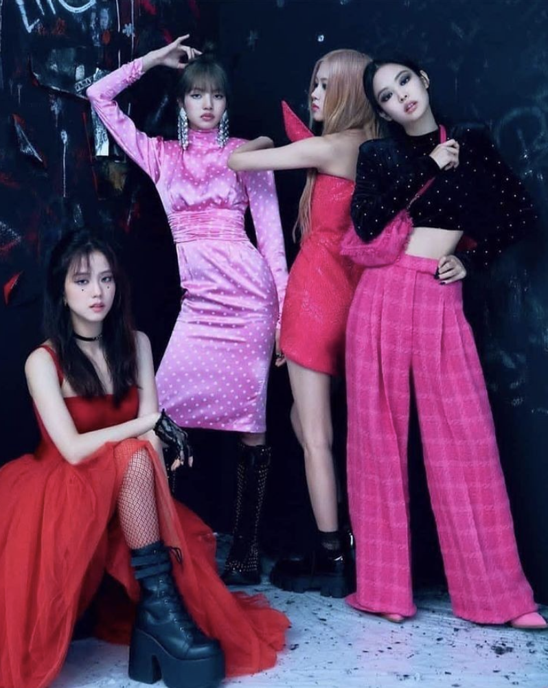 K-pop group Blackpink at the 2020 Asian Music Awards, November 24, 2020 (Photo by Budiey) Creative Commons license via Flickr)
