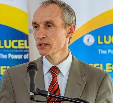 Marcel Alers, United Nations Development Programme Head of Energy, speaks at St. Lucia Electricity Services on the eastern Caribbean island nation of St. Lucia, October 9, 2017.  (Photo courtesy UNDP via Facebook)
