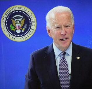 President Joe Biden is hosting world leaders from countries large and small in a virtual global meeting on Earth Day, April 22, 2021. Photo date: February 25, 2021 (Photo courtesy National Governors Assn.) Creative Commons license via Flickr