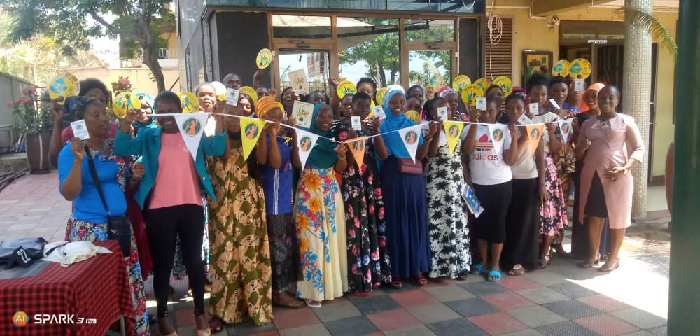 Some informal workers want to move to a more formal arrangement. Here, unionized domestic workers from five provinces in Tanzania demonstrate to remind President John Pombe Magufuli to Ratify the International Labour Organization's bill C 189 on Decent Work for domestic workers.  October 8, 2020 (Photo courtesy International Domestic Workers Federation) Posted for media use