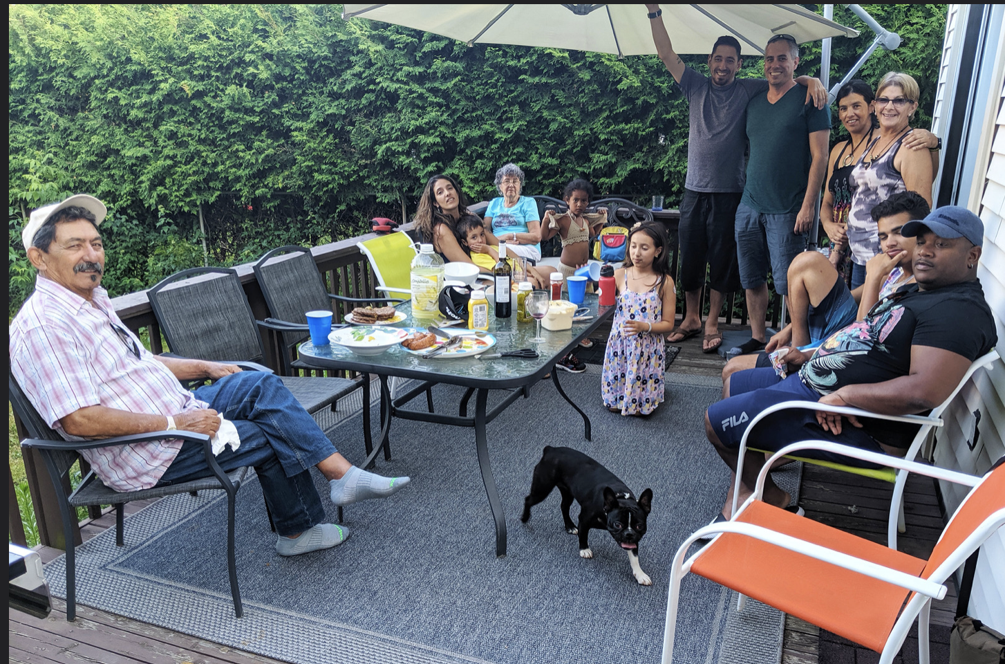 """Friends and family enjoying a """"decent standard of living"""" July 6, 2019, Ottawa, Ontario, Canada. (Photo by lezumbalaberenjena) Creative Commons license via Flickr)"""